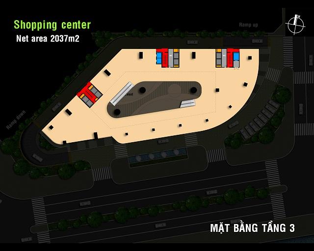 Tầng 3 Charmington Plaza Quận 5