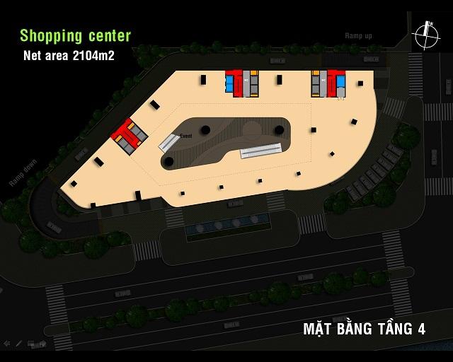 Tầng 4 Charmington Plaza Quận 5