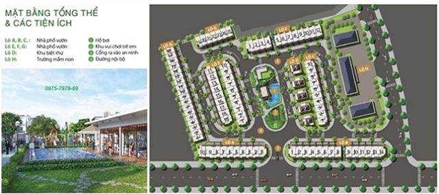 Tổng quan dự án nhà phố và biệt thự Golf Park Novaland Quận 9