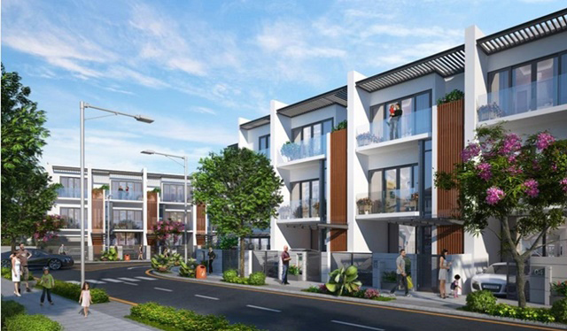 Mô hình dự án nhà phố và biệt thự Golf Park Novaland Quận 9