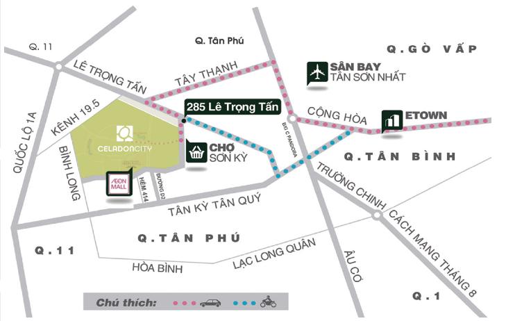 Celadon city quận Tân Phú