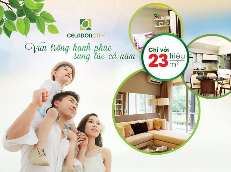 Giá bán căn hộ celadon city