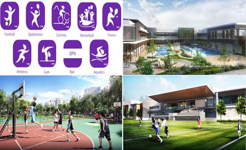 Trung tâm thể thao Celadon Tân Phú