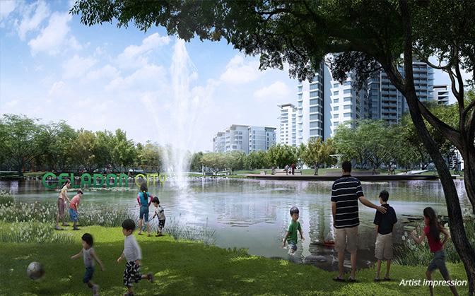 công viên Celadon Tân Phú
