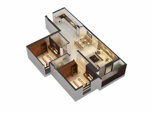 Căn hộ An Phú Apartment 2 phòng ngủ