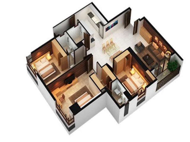 Căn hộ An Phú Apartment 3 phòng ngủ