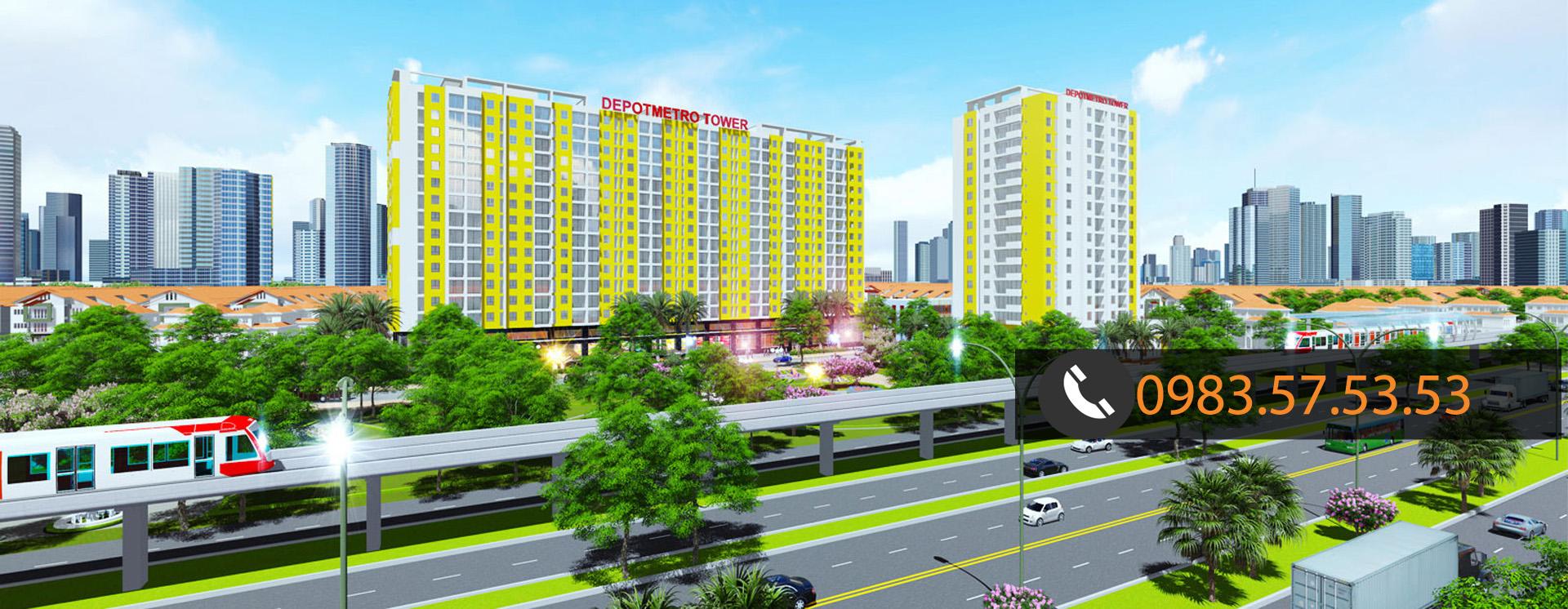 Dự án Depot Metro Tham Lương Quận 12