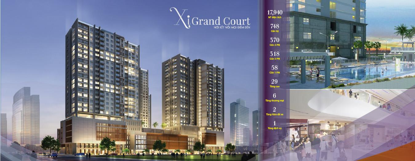 Dự án căn hộ Xi Grand Court Quận 10