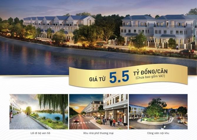 Giá bán nhà phố & biệt thự Lakeview City