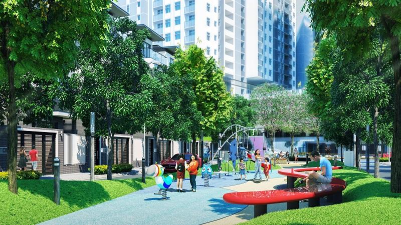 Khu vườn trung tâm Hà Đô Centrosa Garden