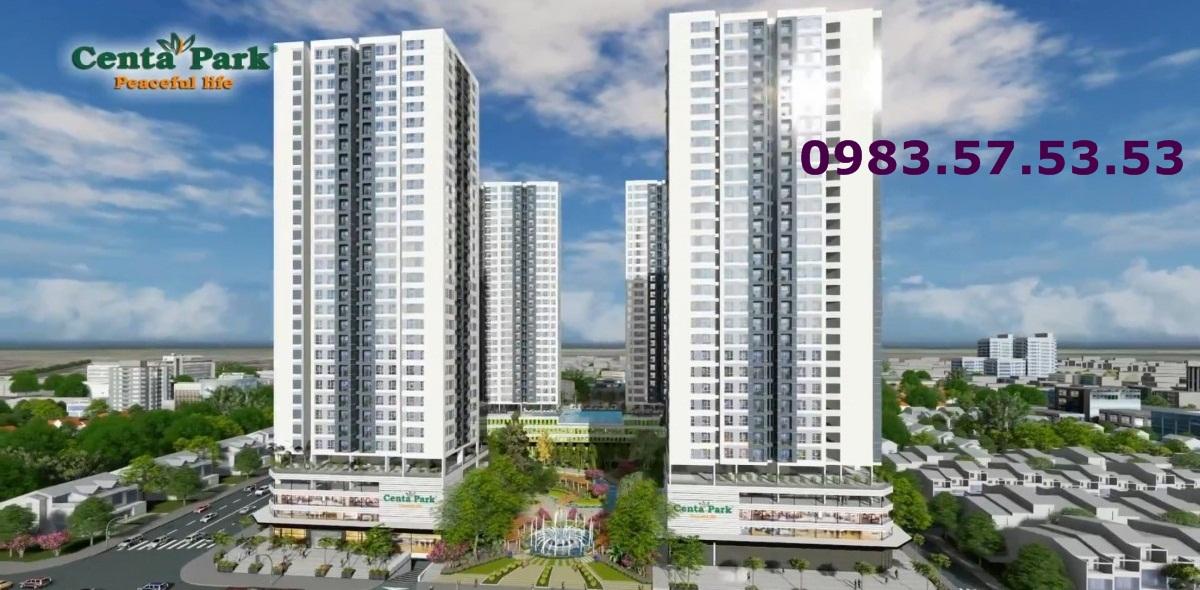 Dự án căn hộ Centa Park