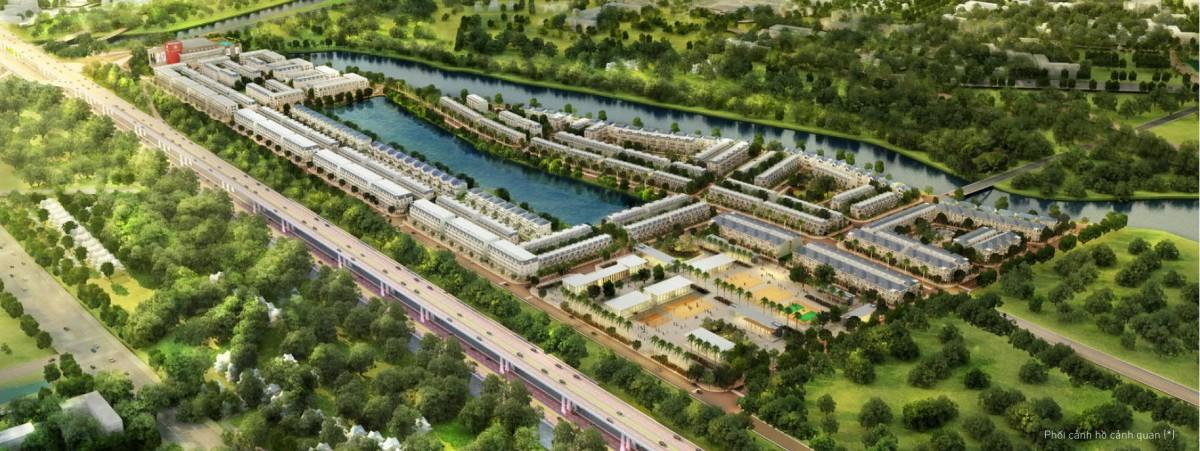 Phối cảnh dự án Lakeview City