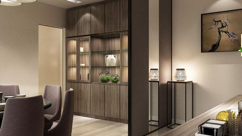 Phòng ngủ căn hộ Hà Đô Centrosa
