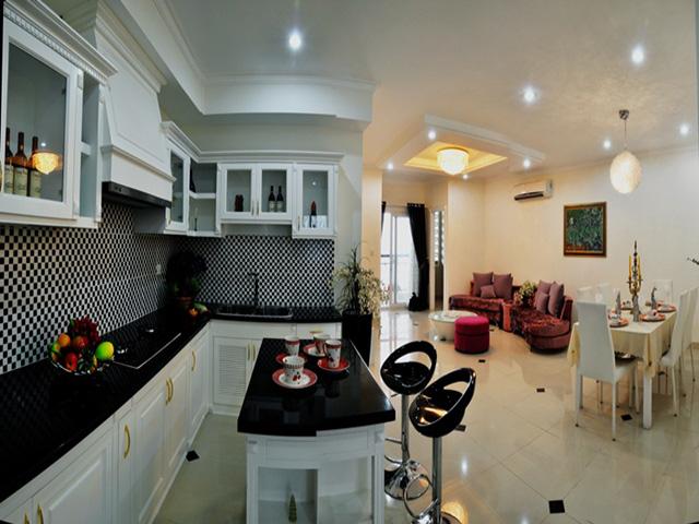 Nhà bếp căn hộ Diamond City quận 7