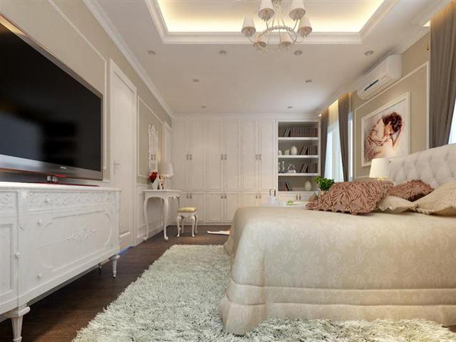 Phòng ngủ dự án căn hộ Diamond City quận 7