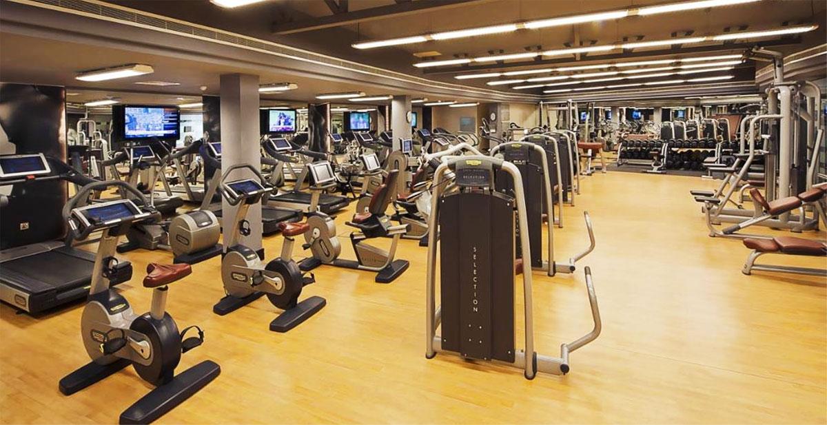 Phòng tập gym tại căn hộ Sài Gòn Mê Linh Tower