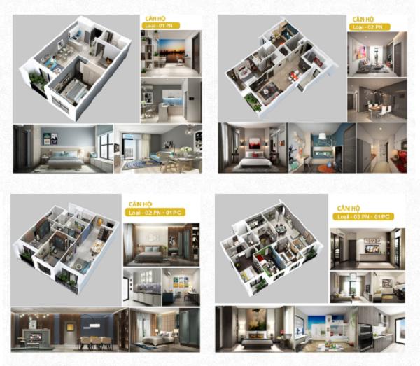 Thiết kế căn hộ Hà Đô