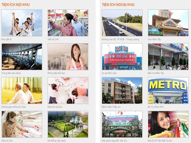 Tiện ích An Phú Apartment quận 6
