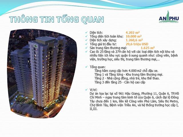 Tổng quan dự án An Phú Apartment quận 6