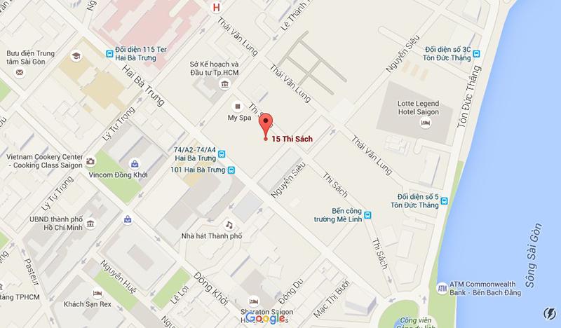 Vị trí căn hộ Madison quận 1