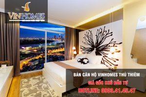 Bán căn hộ Vinhomes Thủ Thiêm giá gốc chủ đầu tư