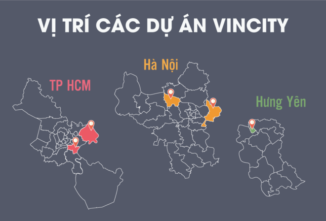 Các dự án Vincity đang được triển khai thuận lợi và giá bán căn hộ Vincity đang được mong đợi