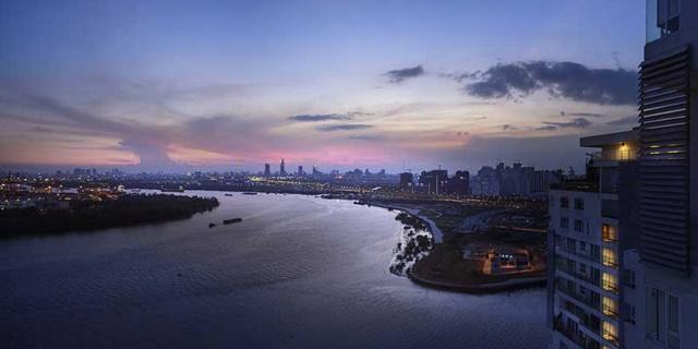 Dự án Sài Gòn Mystery Villas - View Thành Phố