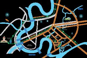 dự án thủ thiêm gragon quận 2 sắp được ra mắt vào tháng 10/ 2017