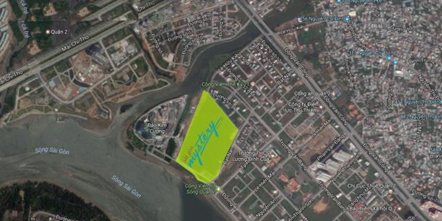 dự án Sài Gòn Mystery Villas - Vị trí thực tế