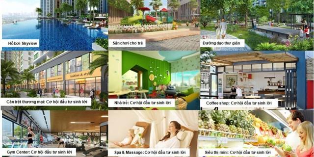 Sài Gòn Mystery Villas tại quận 2 - Tiện ích
