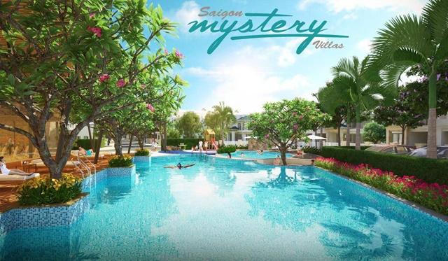 Hồ Bơi trong dự án Sài Gòn Mystery q2