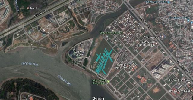 Địa chỉ dự án nhà phố Sài Gòn Mystery