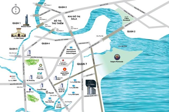 Vị trí dự án River Panorama