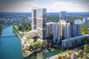 Phối cảnh toàn bộ Dự án River Panorama Quận 7
