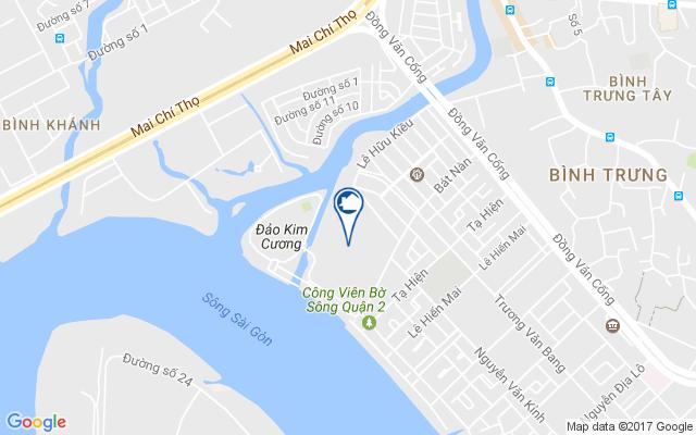vị trí dự án nhà phố Địa chỉ dự án Sài Gòn Mystery