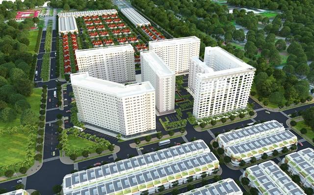 Block B2 Green Town Bình Tân