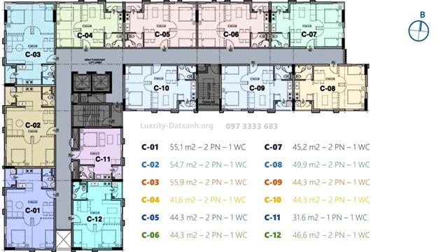 Chuyển nhượng căn hộ Luxcity Offictel giá tốt quận 7 chỉ 1.3 tỷChuyển nhượng căn hộ Luxcity Offictel giá tốt quận 7 chỉ 1.3 tỷ