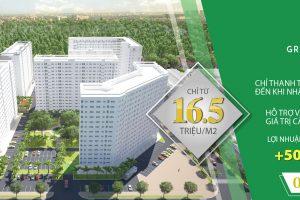 giá bán căn hộ Green Town Bình Tân