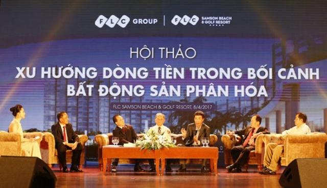 Hội thảo xu hướng dòng tiền BĐS tại trung tâm hội nghị quốc tế FLC Sầm Sơn