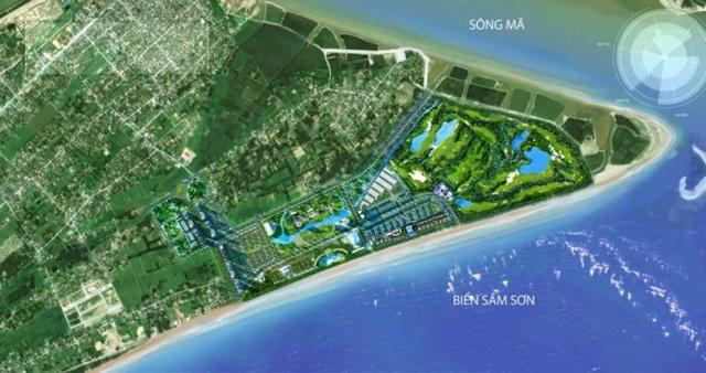 Vị trí vàng của dự án FLC Sầm Sơn Thanh Hóa