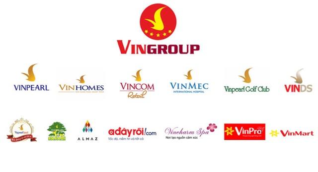 Thương hiệu tập đoàn Vingroup uy tín hàng đầu Việt Nam.