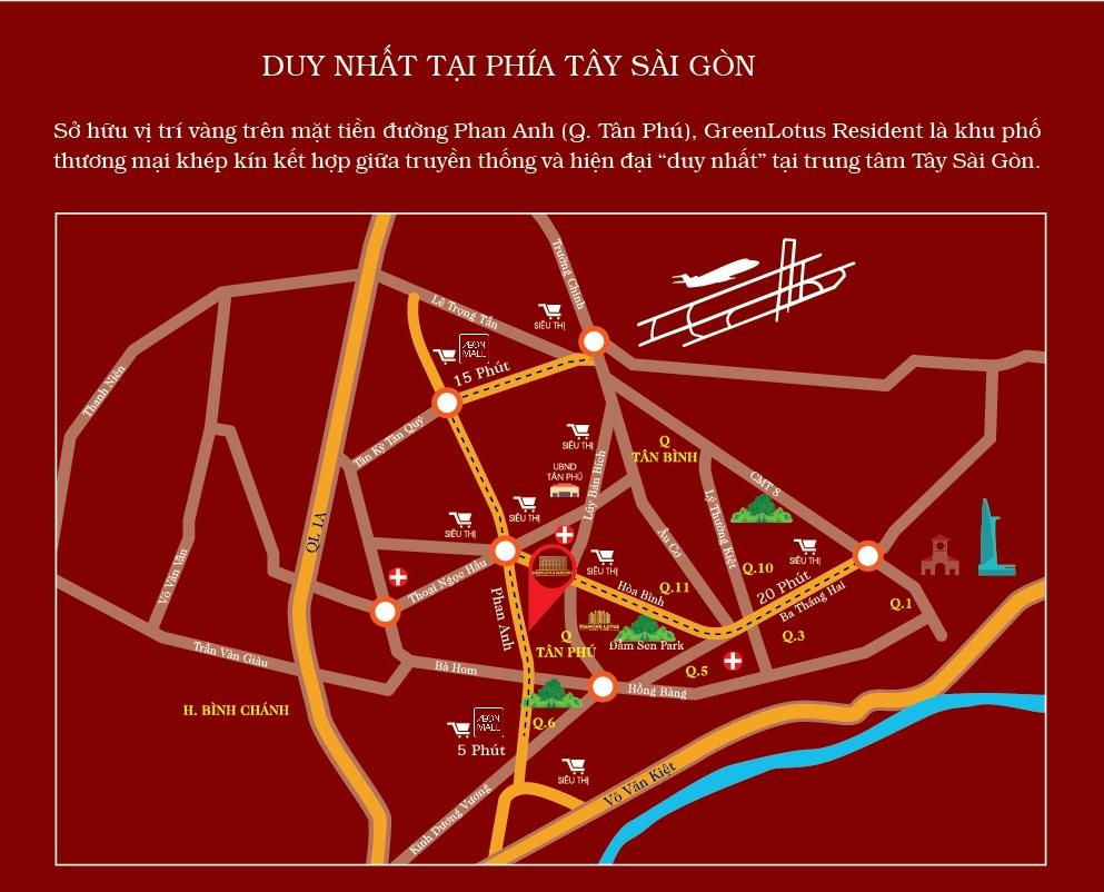 Vị Trí Giá Bán Nhà Phố Tân Phú CĐT Phúc Khang