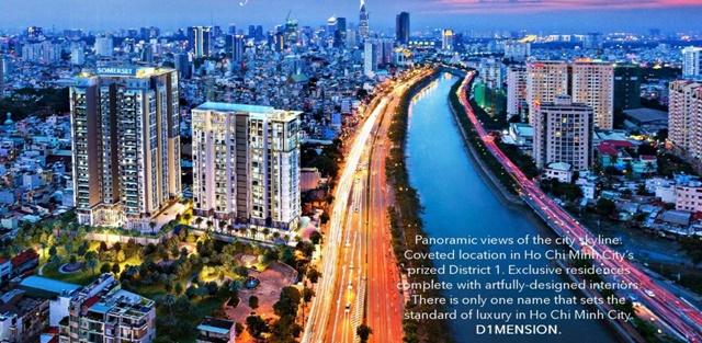 Căn hộ D1 Mension Q1 đẳng cấp trong lòng thành phố