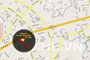 Liên kết vùng vị trí dự án M-One Gò Vấp