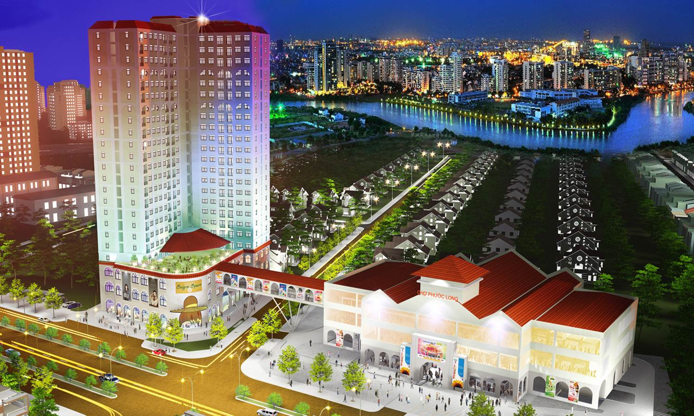 Saigon South Plaza quận 7 – Tuyệt phẩm kiến trúc phù hợp với nhiều tầng lớp dân cư. 1