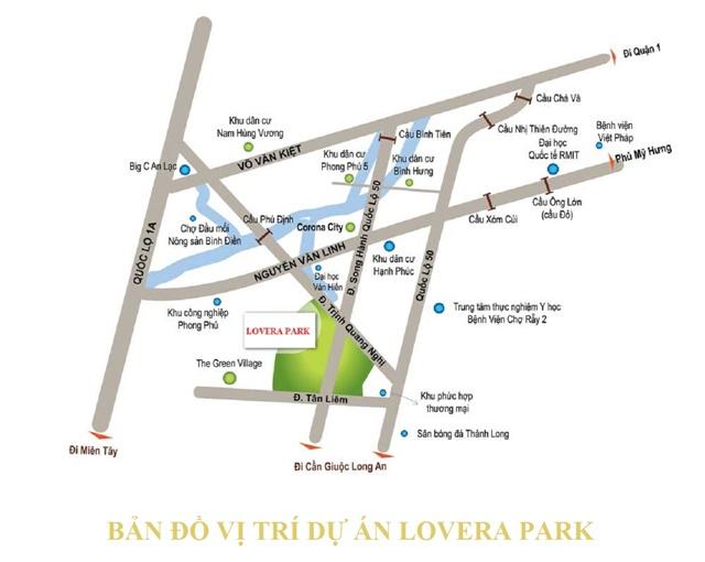 Vi tri du an Lovera Park