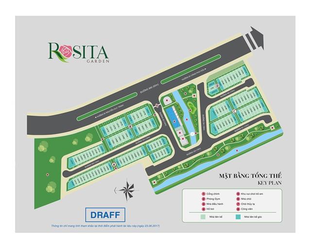 bảng giá dự án rosita garden