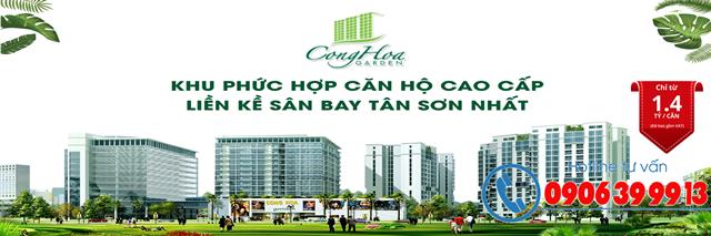 <strong>Dự án Cộng Hòa Garden</strong> Quận Tân Bình