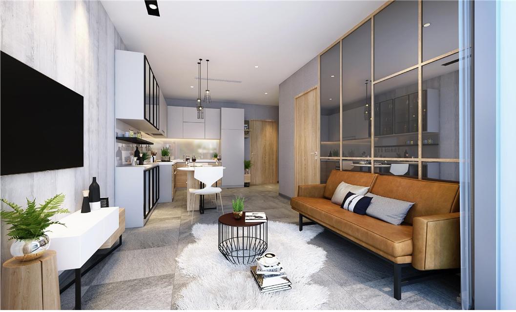 Thiết kế căn hộ Diamond Lotus Riverside thật khác biệt