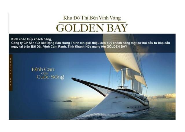 Bến du thuyền chuyển nhượng dự án golden bay